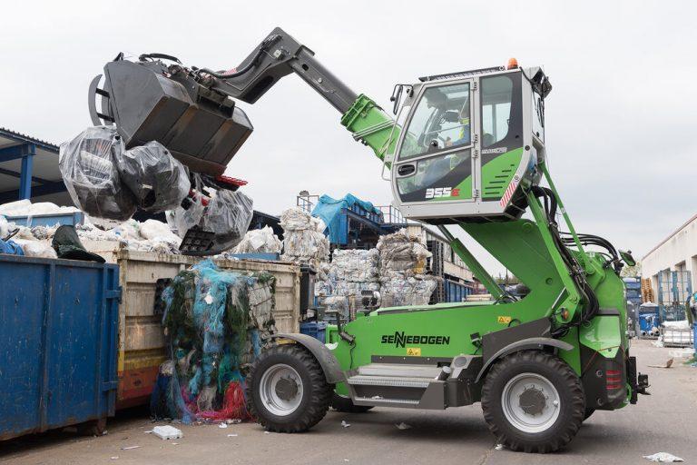 FEDEREC SENNEBOGEN 355 recyclage2